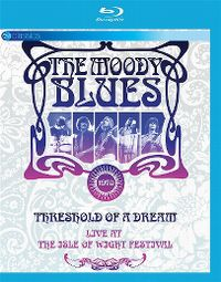 Cover The Moody Blues - Threshold Of A Dream - Live At The Isle Of Wight Festival [DVD]